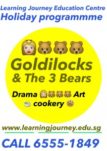 kids holiday programme goldilocks bear Drama art creative writing singapore