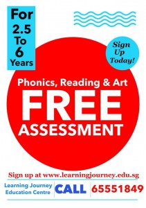 phonics reading class free assessment singapore