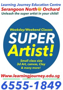 super artist kids art class singapore
