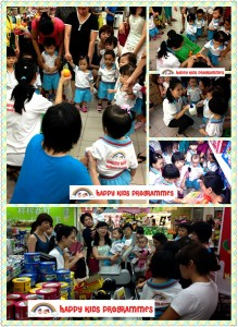 supermarket learning trip for kids