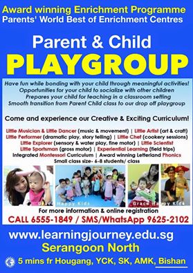 parent child playgroup class