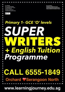 english tuition creative writing singapore