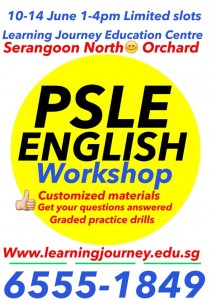 psle english tuition singapore workshop