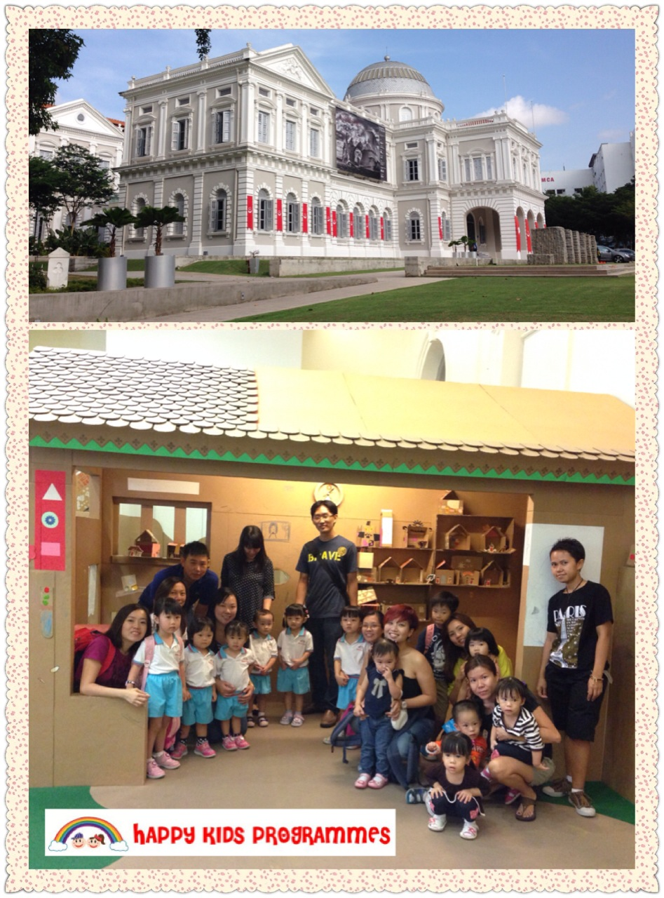 Learning Trip to the National Museum of Singapore- Masak Masak and PLAY@ NMS