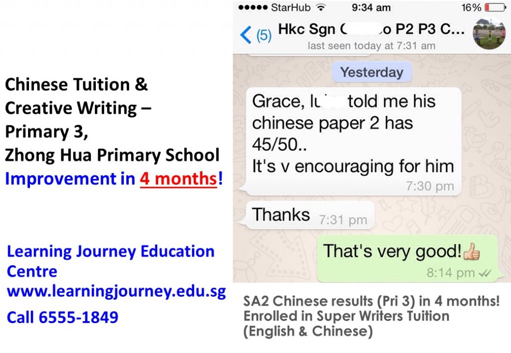 Effective primary chinese tuition singapore 2