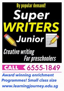 creative writing for preschoolers learning journey singapore seng kang hougang kovan serangoon
