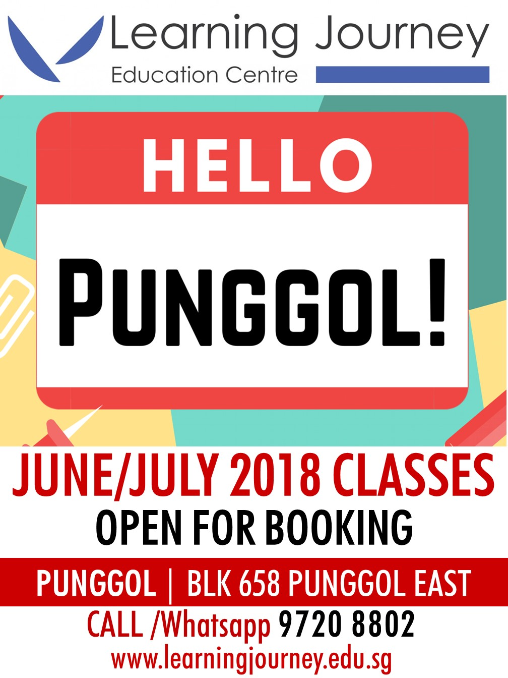 Punggol East Learning Journey Education Centre